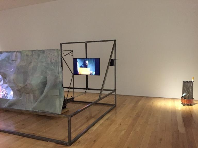 Neil Beloufa at Artes Mundi 7 (©OneArtCitizen)
