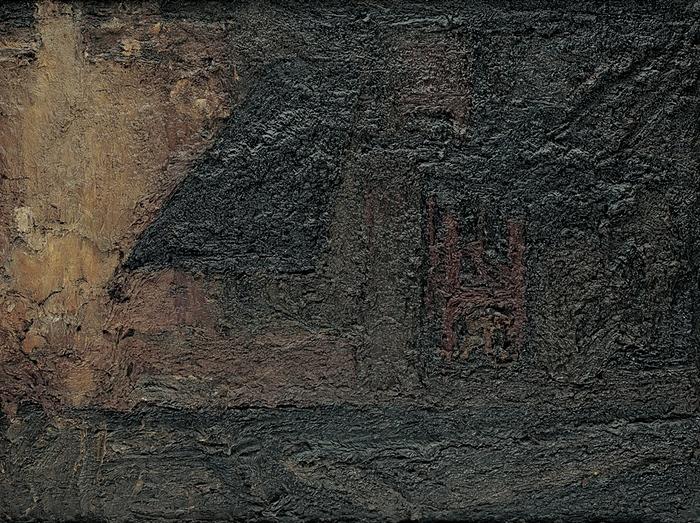 Frank Auerbach - Earls Court Road