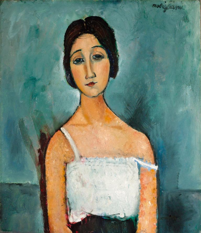 Christina by Modigliani