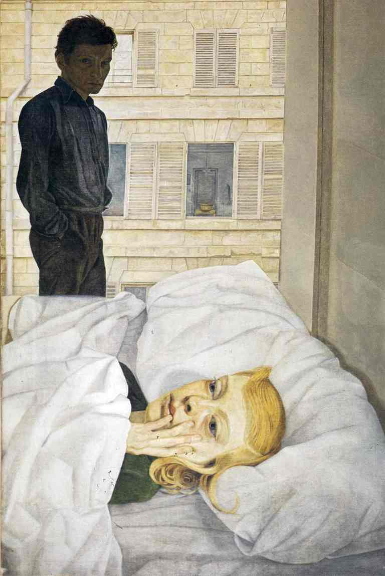 Hotel Bedroom by Lucien Freud