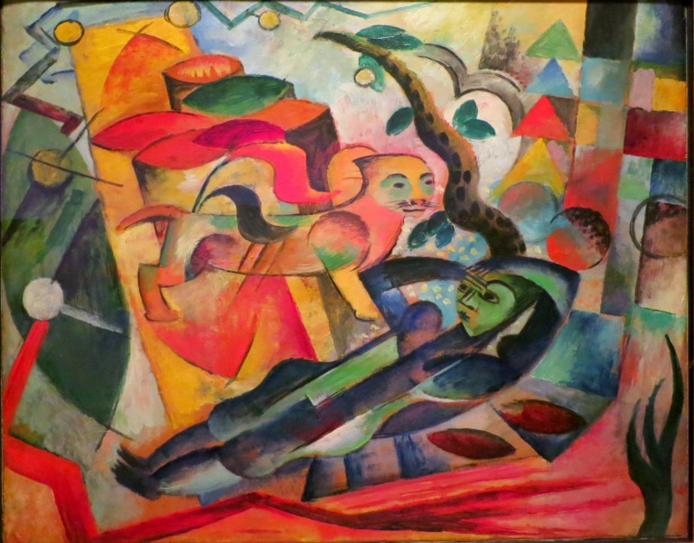 The Dream by Heinrich Campendonk