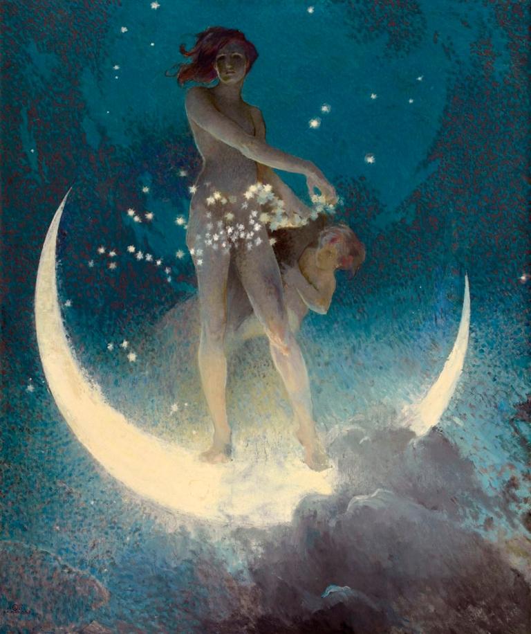 Edwin Howland Blashfield, Spring Scattering Stars -1927