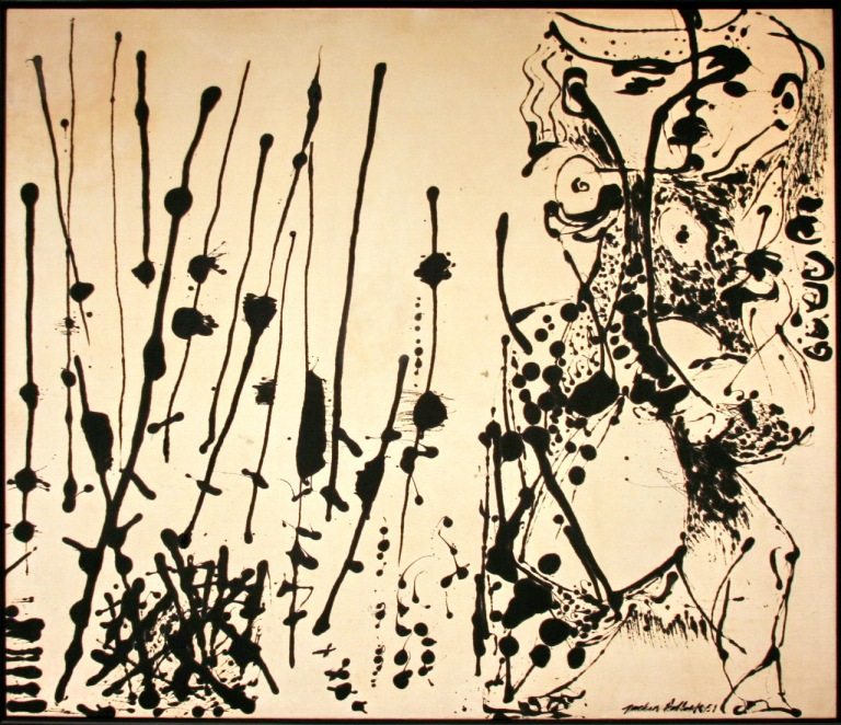 Number 7 by Jackson Pollock