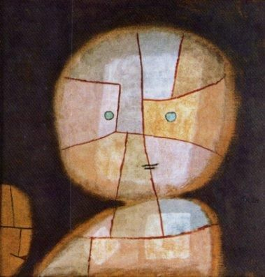 Paul-klee : buste-enfant-1933