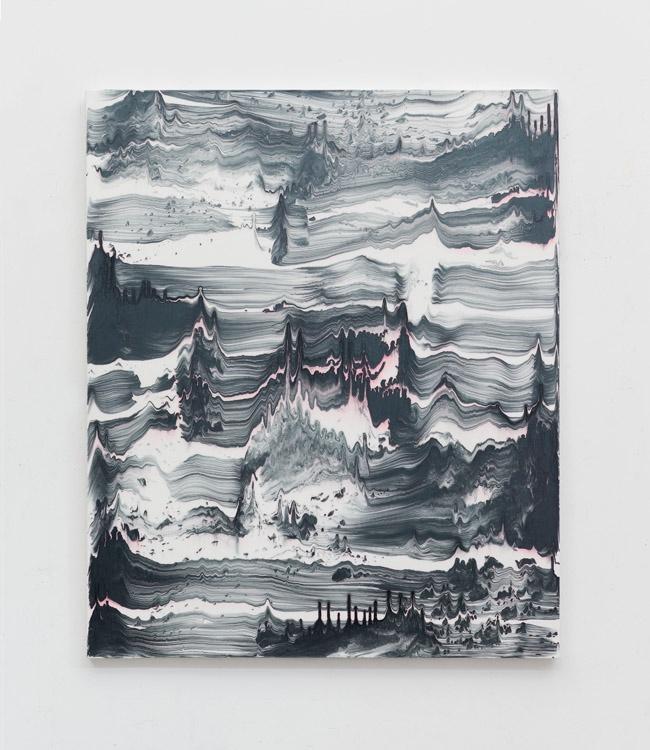 Upir by Bernard Frize