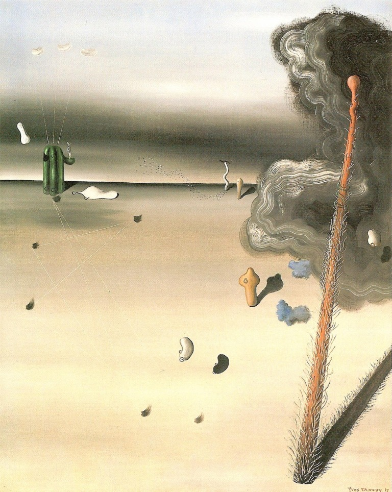 Yves Tanguy Mama, Papa is Wounded!, 1927.