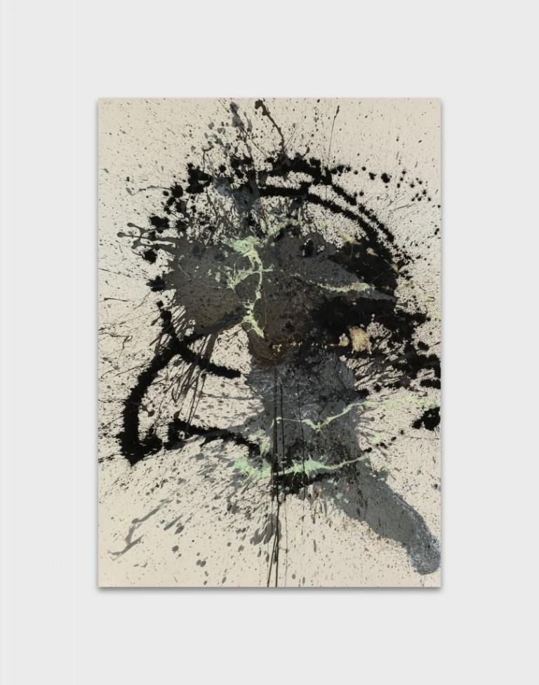 John M Armleder, While, 2016 © John M Armleder